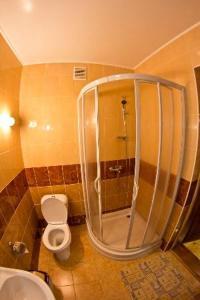 A bathroom at Edelweiss Carpathians Migovo
