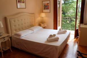 A room at Hotel Villa Quiete