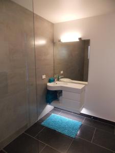 A bathroom at The Hamptons