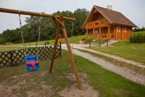 Laste mänguala majutusasutuses Partsilombi Holiday Home