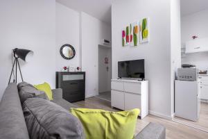 Część wypoczynkowa w obiekcie Tulip Apartments - studio nr 1 - Śmiałego 7 m 3