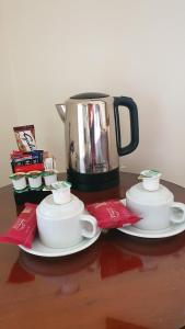 Coffee and tea-making facilities at The Down Inn