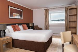 A room at Strangford Arms Hotel