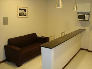 A seating area at Flats Unicaflex