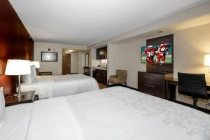A room at Red Roof Inn PLUS+ & Suites Malone