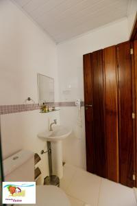Um banheiro em Pousada Caúca