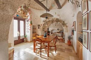 Zona pranzo in country house