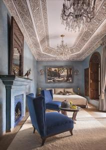 The lounge or bar area at La Sultana Marrakech