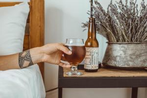 Drinks at Lost Ridge Inn, Brewery & Ranch