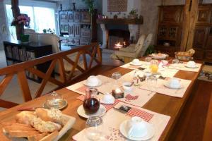 Restaurant ou autre lieu de restauration dans l'établissement Ferme de Marpalu
