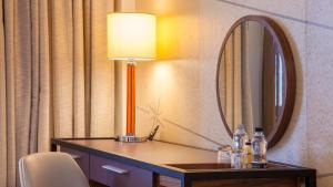 Zaplecze biznesowe lub konferencyjne w obiekcie Crowne Plaza London Kings Cross, an IHG Hotel