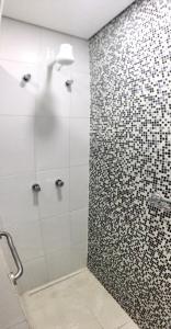Um banheiro em Hotel Santo Graal