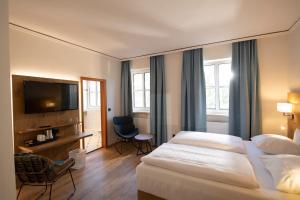 A room at Landhotel Kauzenberg