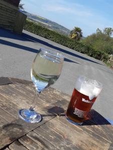 Drinks at The Castle Inn