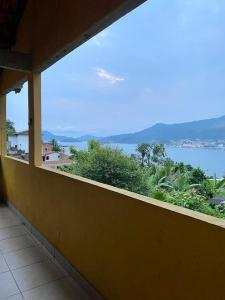 A balcony or terrace at Alto do Marinas