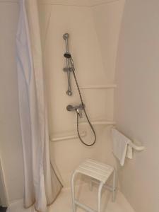 Salle de bains dans l'établissement Ibis budget Verdun