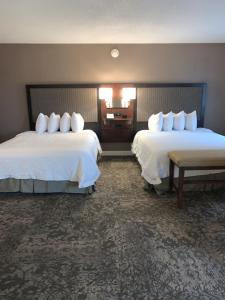 A room at Hampton Inn & Suites By Hilton - Rockville Centre