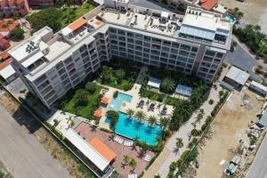 Uma vista aérea de Modern apartment in levent in front of eagle beach