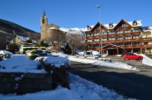 Hotel La Morera en invierno