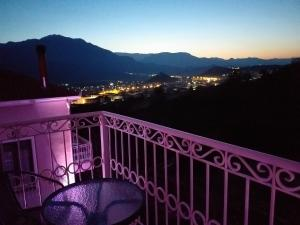 A balcony or terrace at Epavlis Meteora Suites Hotel