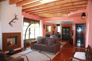 Zona de estar de Casa Rural Telleri