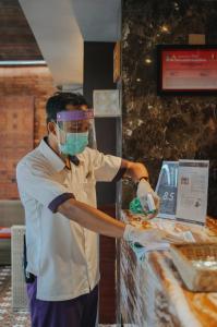 Staff members at Horison Seminyak Bali