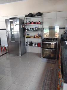 Una cocina o zona de cocina en Cantin de Nós