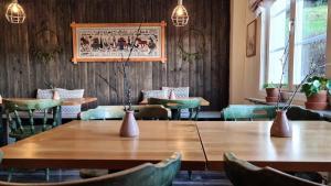 En restaurang eller annat matställe på Dalens Gård Mountain Lodge