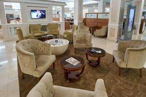 The lounge or bar area at Radisson Hotel Ulyanovsk