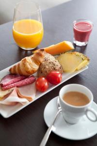 Frukostalternativ för gäster på Hotel Villan