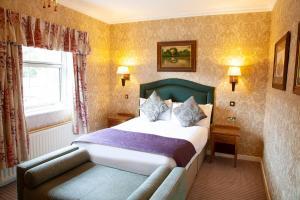 A room at The Charlecote Pheasant