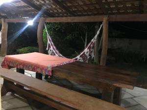 Un patio o zona al aire libre en Chácara Sombra da Mata