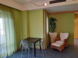 A seating area at Casa Beata 2
