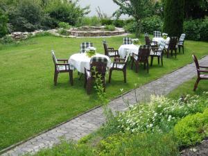 A garden outside Gasthof Zuck