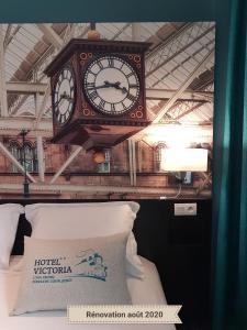 Hall ou réception de l'établissement Hotel Victoria Lyon Perrache Confluence