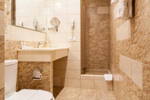 Ванная комната в Отель Ретро