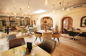 A restaurant or other place to eat at Hotel Frýdl