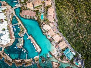 Uma vista aérea de Curacao Luxury Holiday Rentals