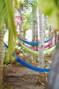 Terrasse ou espace extérieur de l'établissement Casa Frida Holbox