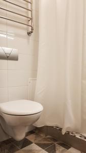 A bathroom at Old Kaunas Apartment
