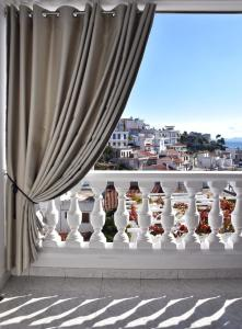 A balcony or terrace at Angelos Design Suites