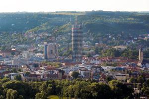 A bird's-eye view of Scala Turm Hotel Restaurant