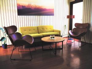 Lounge nebo bar v ubytování Hotel SKANZEN