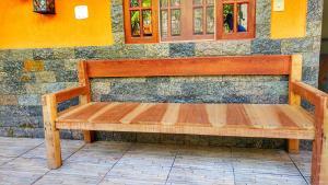 A patio or other outdoor area at Pousada Hostel Raio de Sol - Ilha Grande