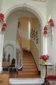 The lobby or reception area at Casa da Tia Guida