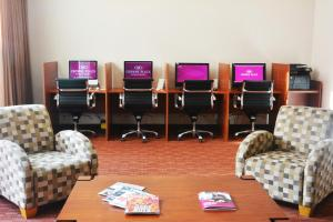 The business area and/or conference room at Crowne Plaza Monterrey Aeropuerto, an IHG hotel