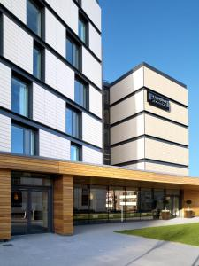 The facade or entrance of Staybridge Suites Newcastle