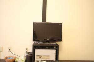 A television and/or entertainment center at Wakatake
