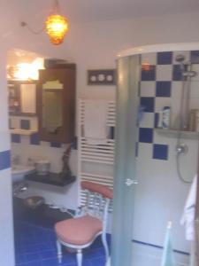 Un baño de Openspace Delizioso