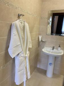 Ванная комната в Hotel Bavaria